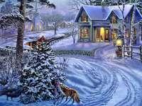 зимата в града