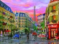 Цветен Париж.