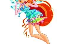 Winx club bloom enchantix
