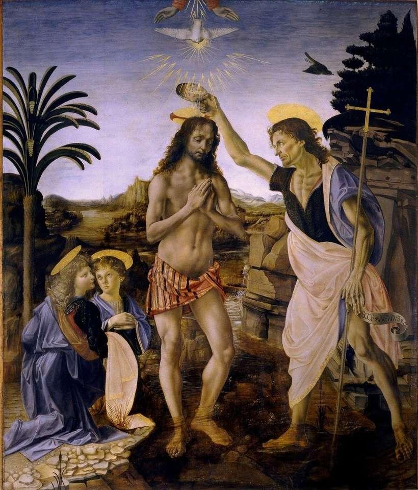 Chrzest Jezusa - Chrzest Pana Jezusa w Jordanie. Obraz: pixabay.com (6×8)