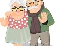 bunica si bunicul