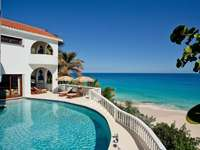 dům na pláží