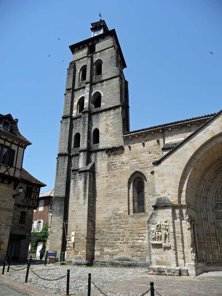 Beaulieu sur Dordogne - kościół Beaulieu sur Dordogne (9×12)