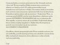 Een brief van Kamyk