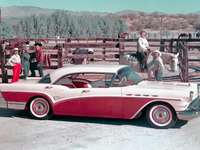 1957 photo promotionnelle Buick Century