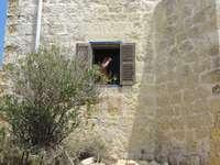 Verlassenes Haus in Malta