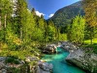 Triglav Nemzeti Park Szlovénia