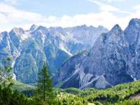 Triglav nationalpark Slovenien