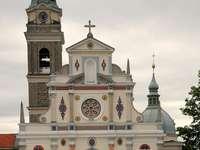 Miejsce pielgrzymkowe Brezje Marian w Słowenii