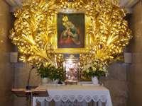 Brezje Marian pilgrimsfärdsplats i Slovenien