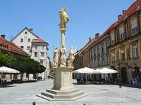 Ciudad de Celje en Eslovenia