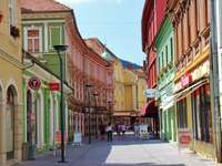 Stad Celje i Slovenien