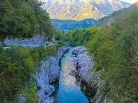 Valle de Soca en Eslovenia
