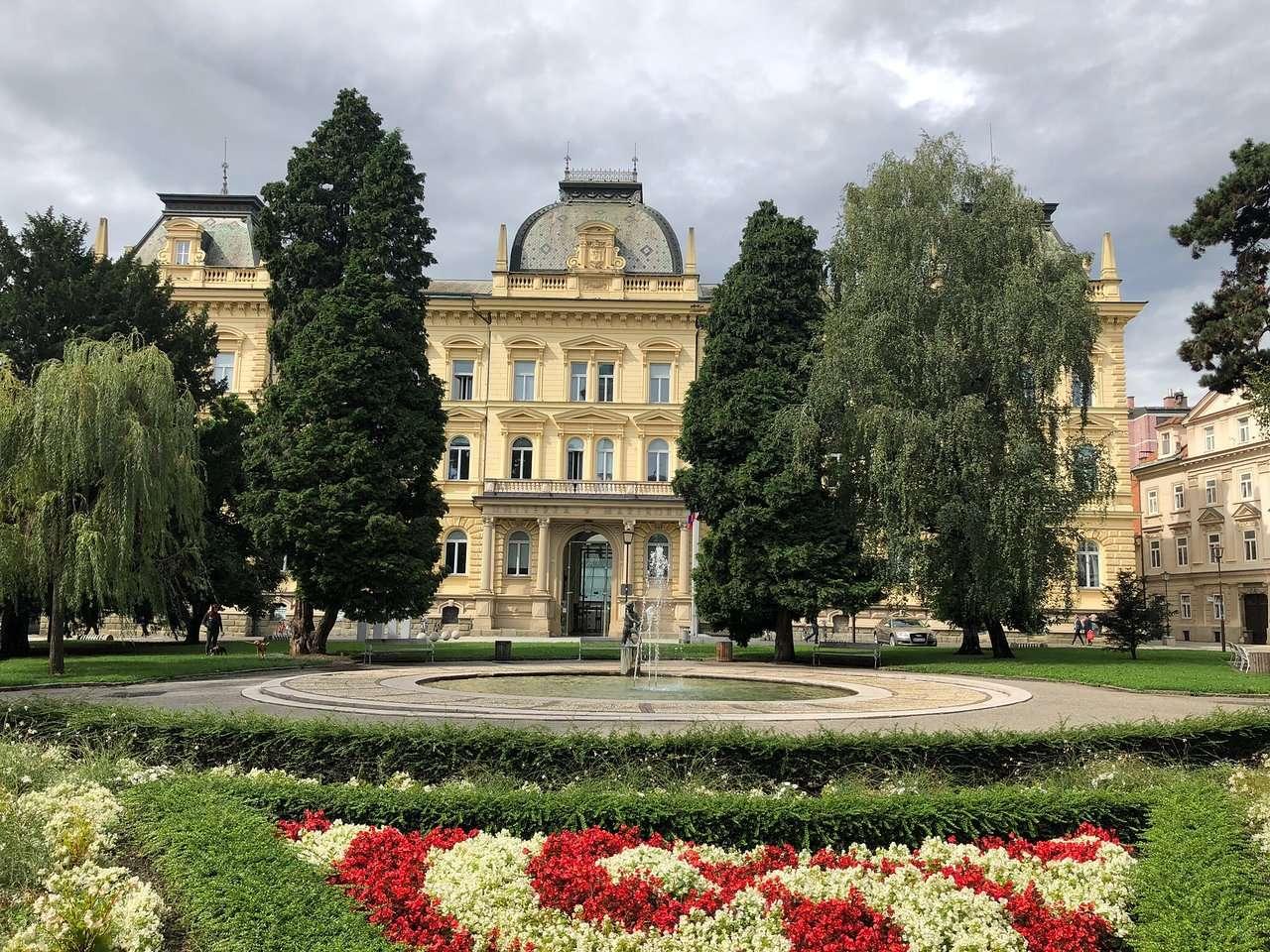 Maribor stad i Kroatien (14×11)