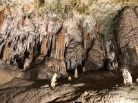 Postojna stalactite peșteri Slovenia