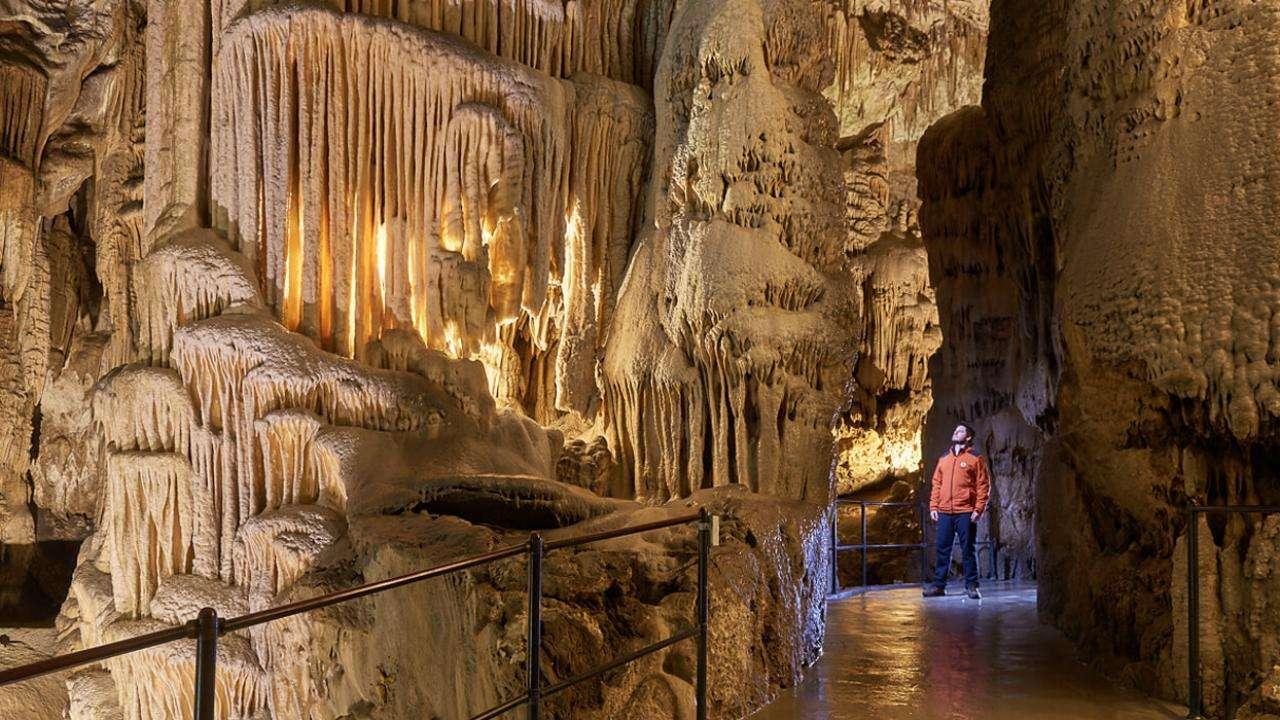 Postojna-stalaktitgrottor Slovenien (17×10)