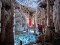 Cuevas de estalactitas de Postojna Eslovenia