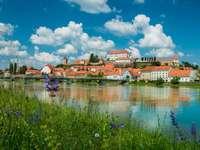 Orașul Ptuj din Slovenia