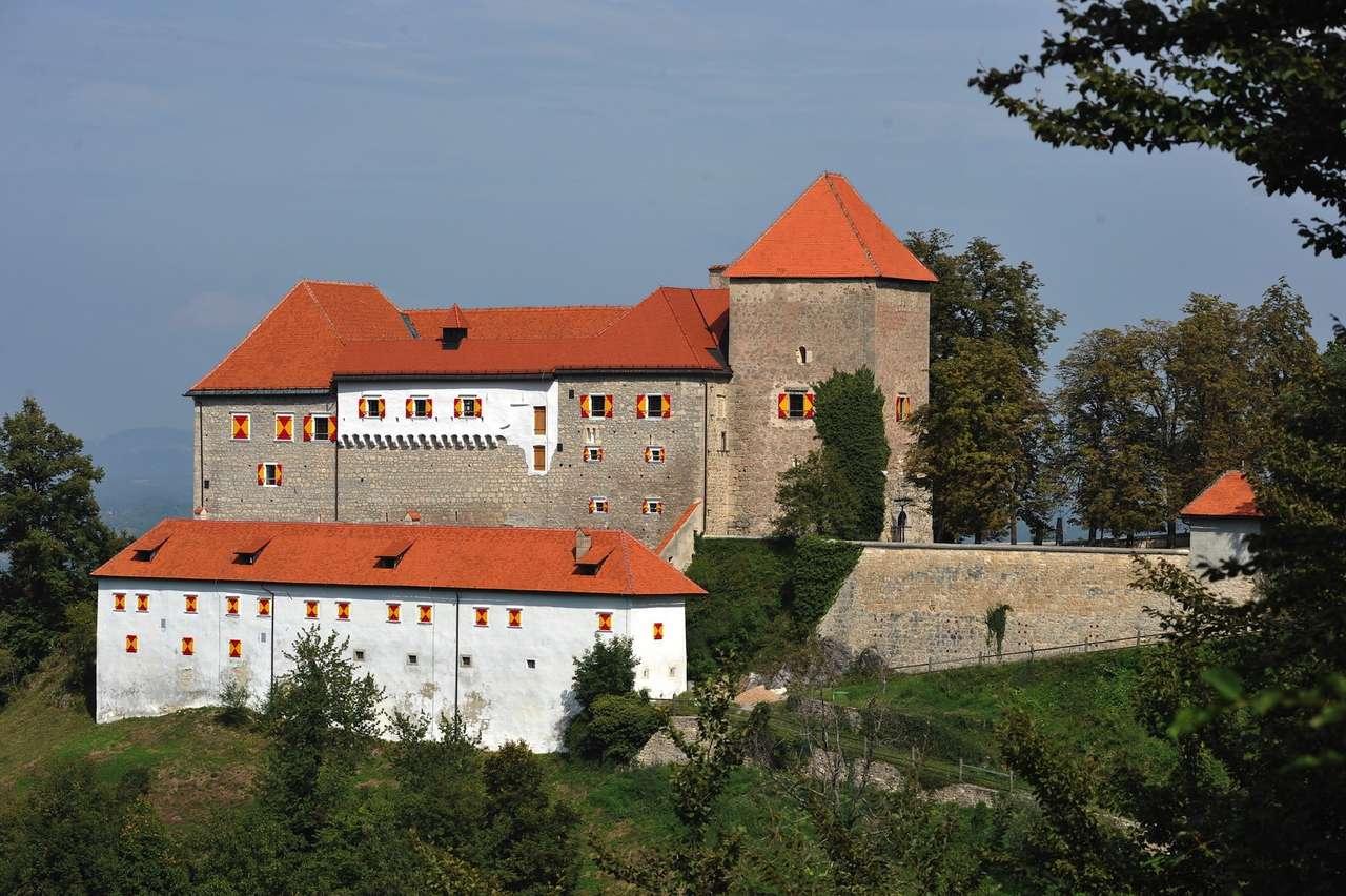 Grad Podsreda Szlovéniában (16×11)