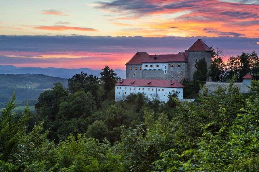 Град Подсреда в Словения