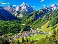 Kranjska Gora in Slowenien