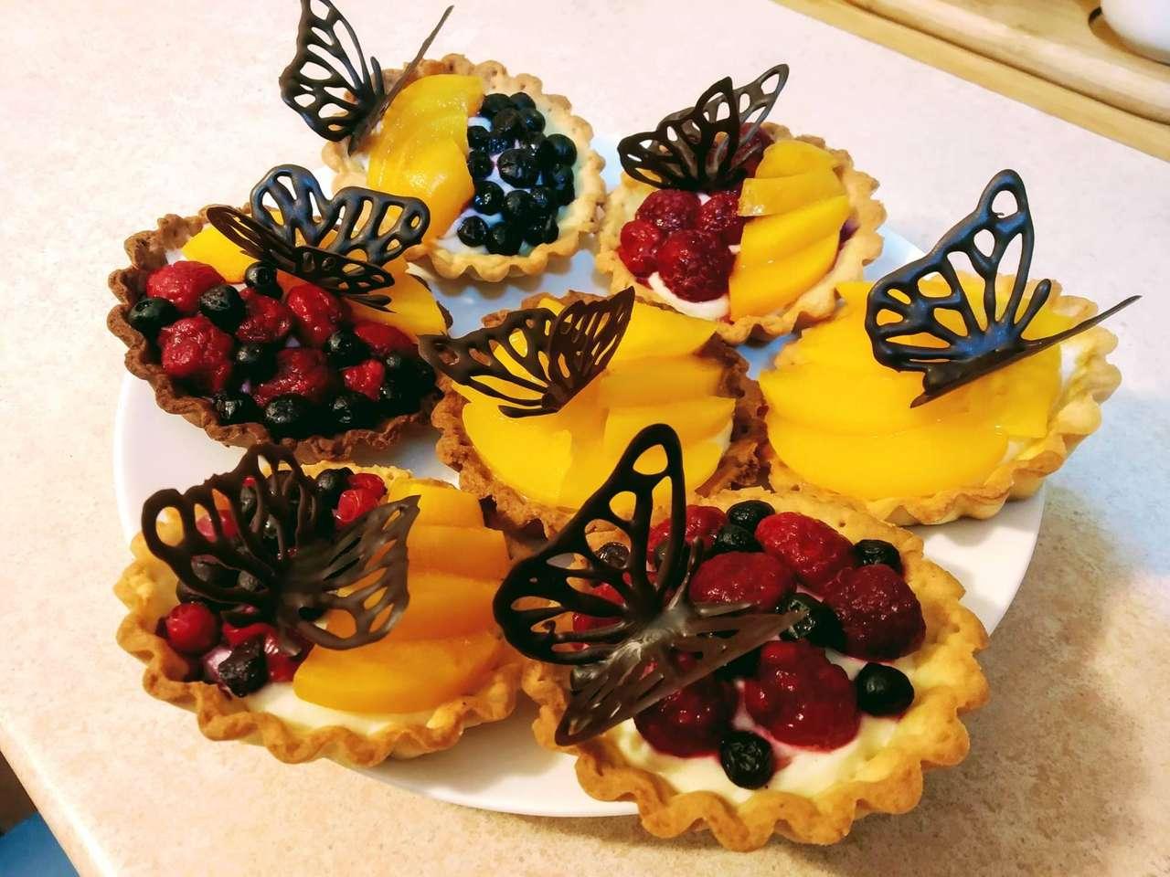 Motýli puzzle - Puzzle cookies motýli (5×4)
