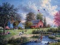 Paesaggio rurale.