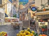 Itálie. Amalfi.