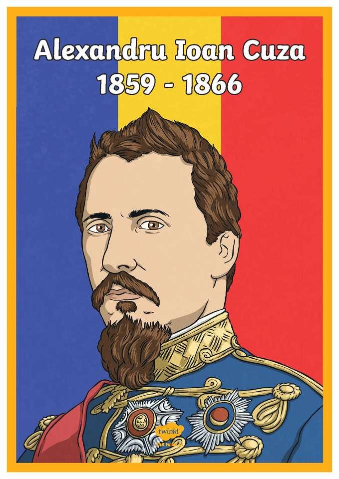 Alexandru Ioan Cuza - Vládce Valašska a Moldávie (3×5)