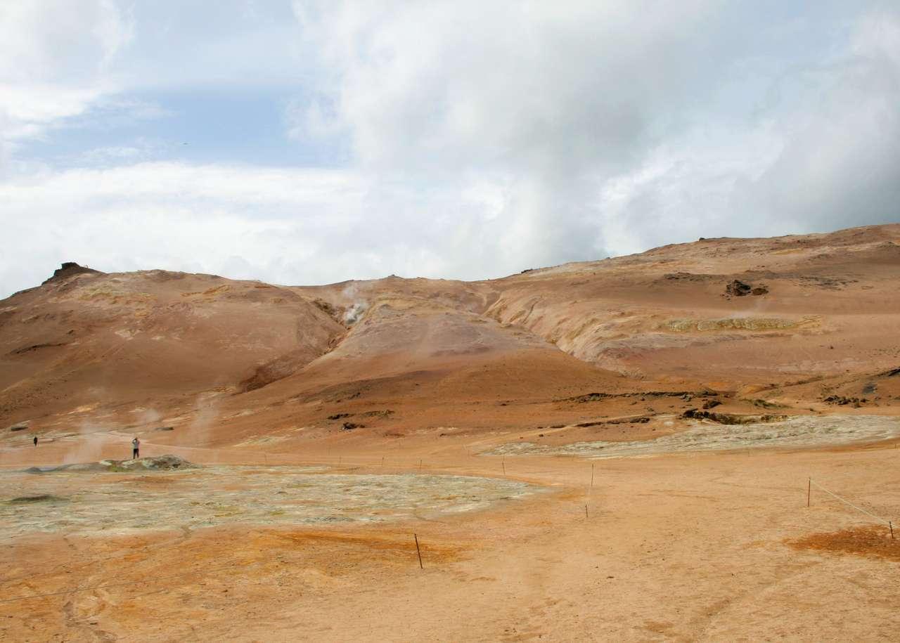 Vulkaniskt landskap (20×15)
