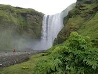 Vodopád na Islandu