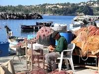 Procida-NA- Pêcheur d'Italie