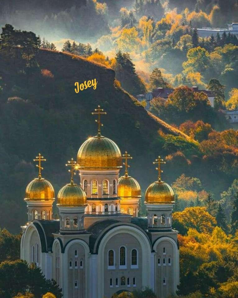 ortodox kyrka - Byggnader i Östeuropa (15×20)