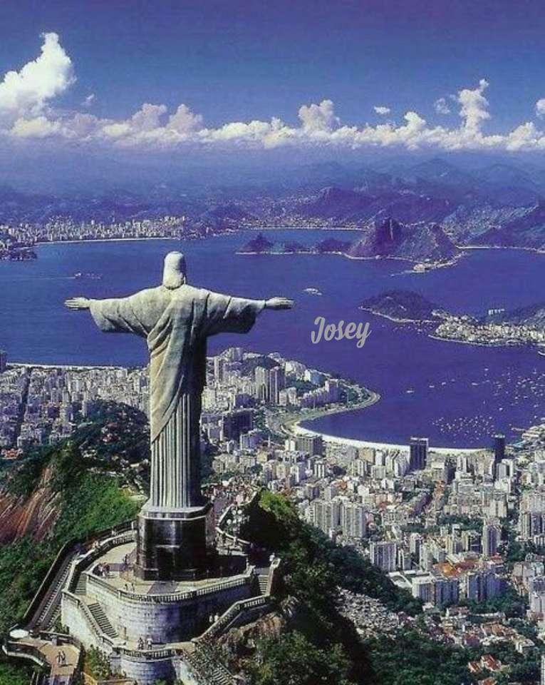 Kristus av Corcovado - Rio de Janeiro landskap (15×20)