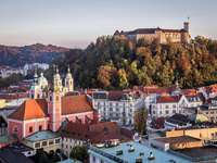 Lubiana in Slovenia