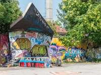 Любляна Метелкова Место графити Словения