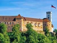 Lublaňský hradní vrch Slovinsko