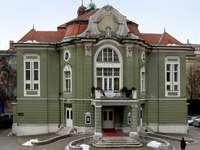 Casa Art Nouveau din Ljubljana Slovenia