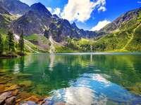 lago en los Tatras