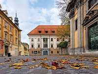 Lublaňské městské muzeum Slovinsko