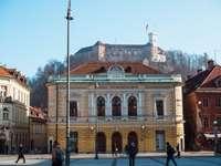 Ljubljana Congress Square Słowenia