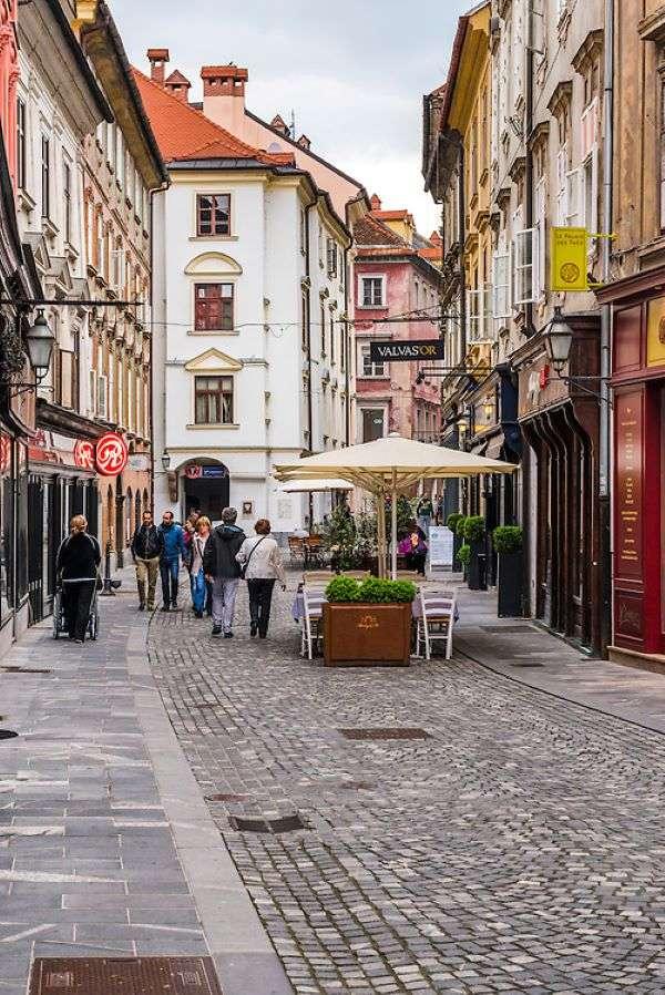 Любляна стар град Словения (8×12)