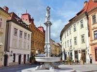 Orașul vechi din Ljubljana, Slovenia