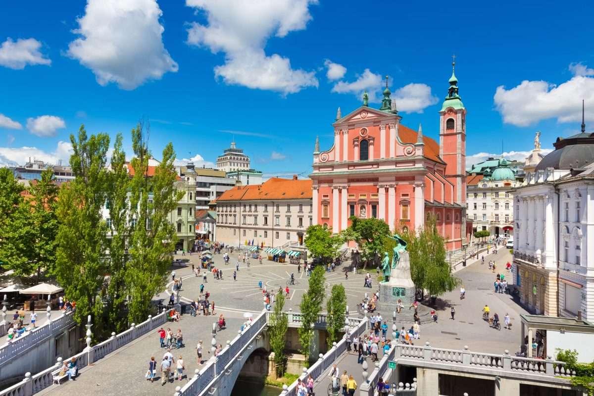 Ljubljana, Szlovénia fővárosa