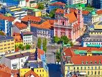 Capitala Ljubljana a Sloveniei