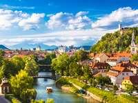 Liubliana, capital de Eslovenia