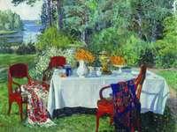 Ζωγραφική στον Κήπο Stanislav Zhukovsky