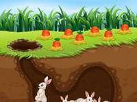 Зайчета в бърлогата