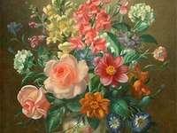 Ваза за рисуване на цветя
