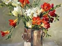 Váza festése freskókkal